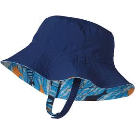Patagonia Sun Bucket Hat Baby Fishy Fun: Electron Blue